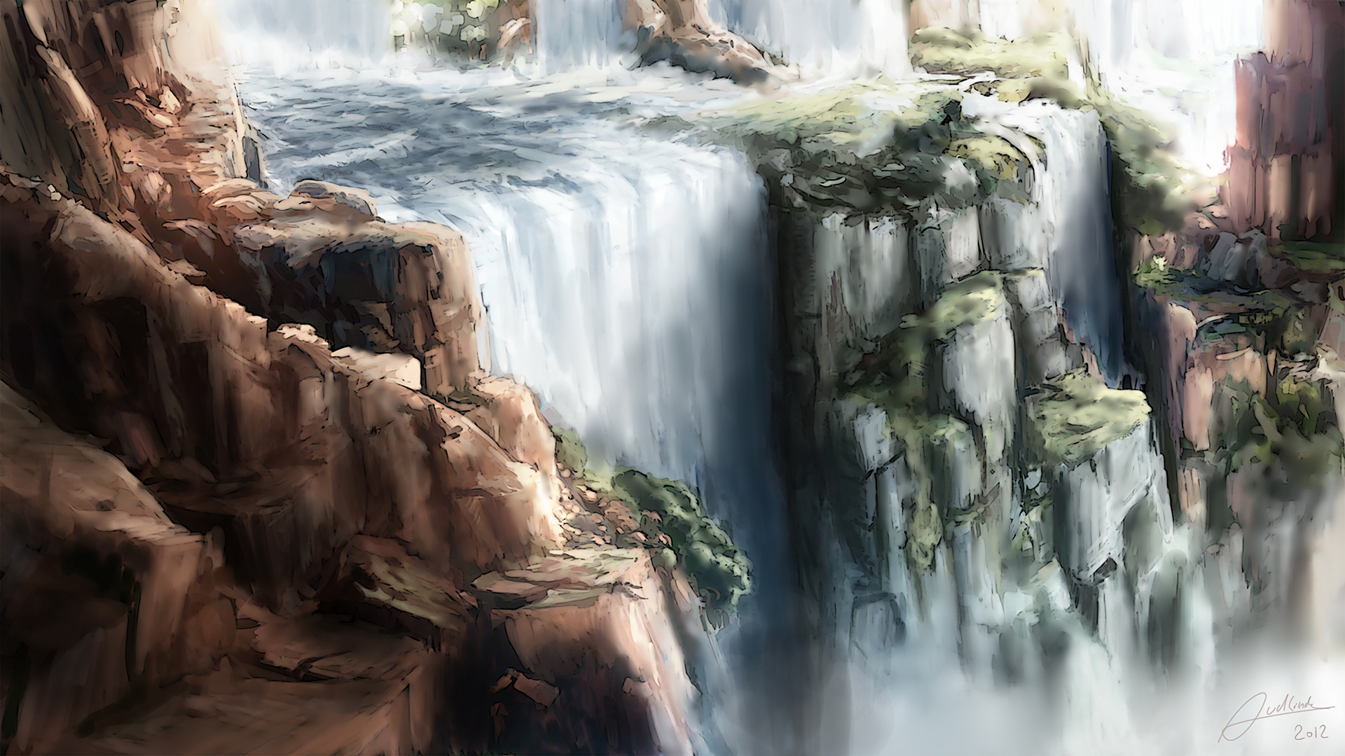 The Water Falls